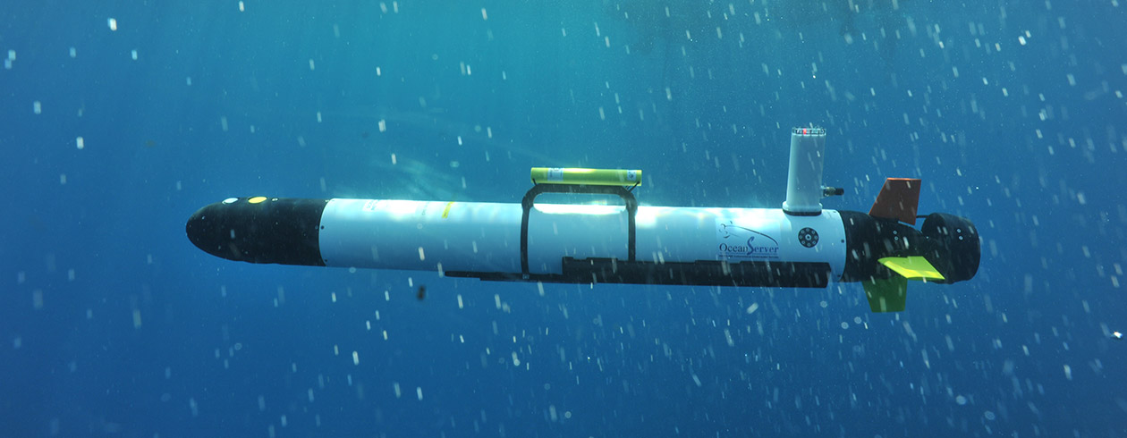 KVH IMU unmanned undersea application