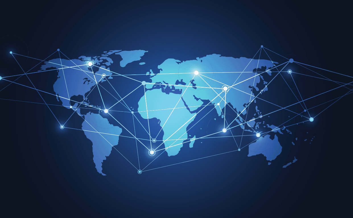 World Satellite Coverage Map